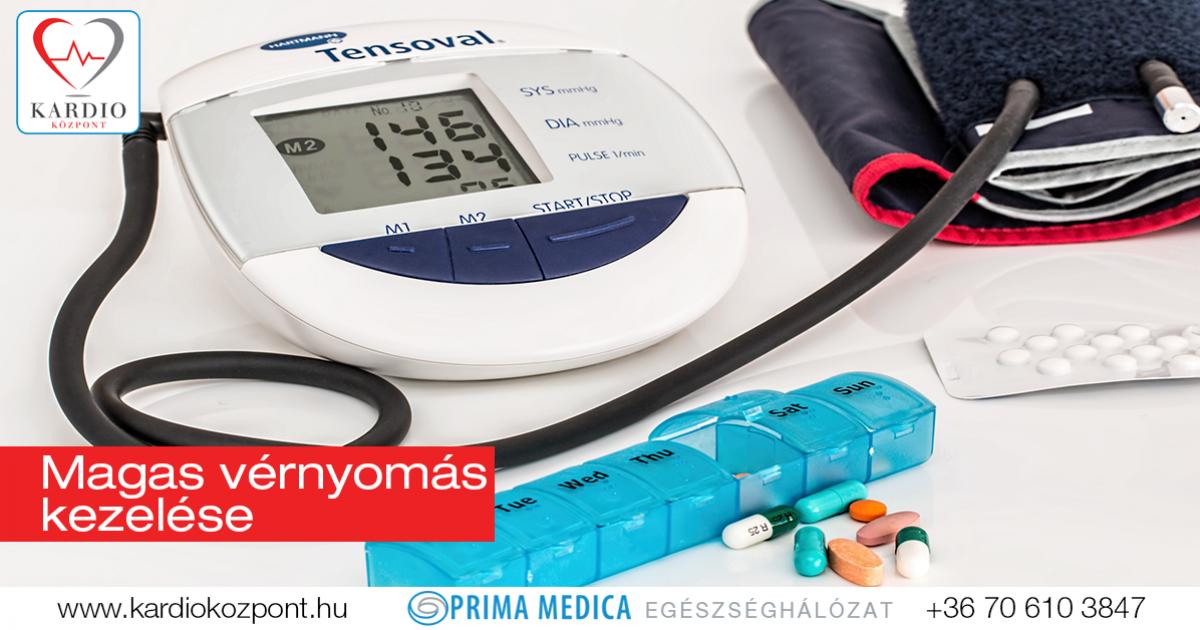 a magas vérnyomás rendhagyó módon történő kezelése