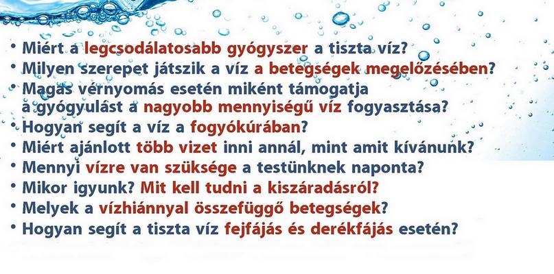 mennyi vizet lehet inni naponta magas vérnyomás esetén