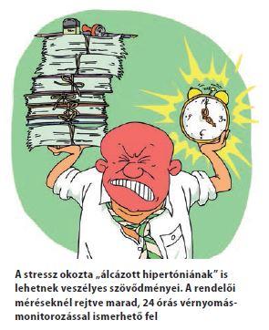 magas vérnyomás stresszel