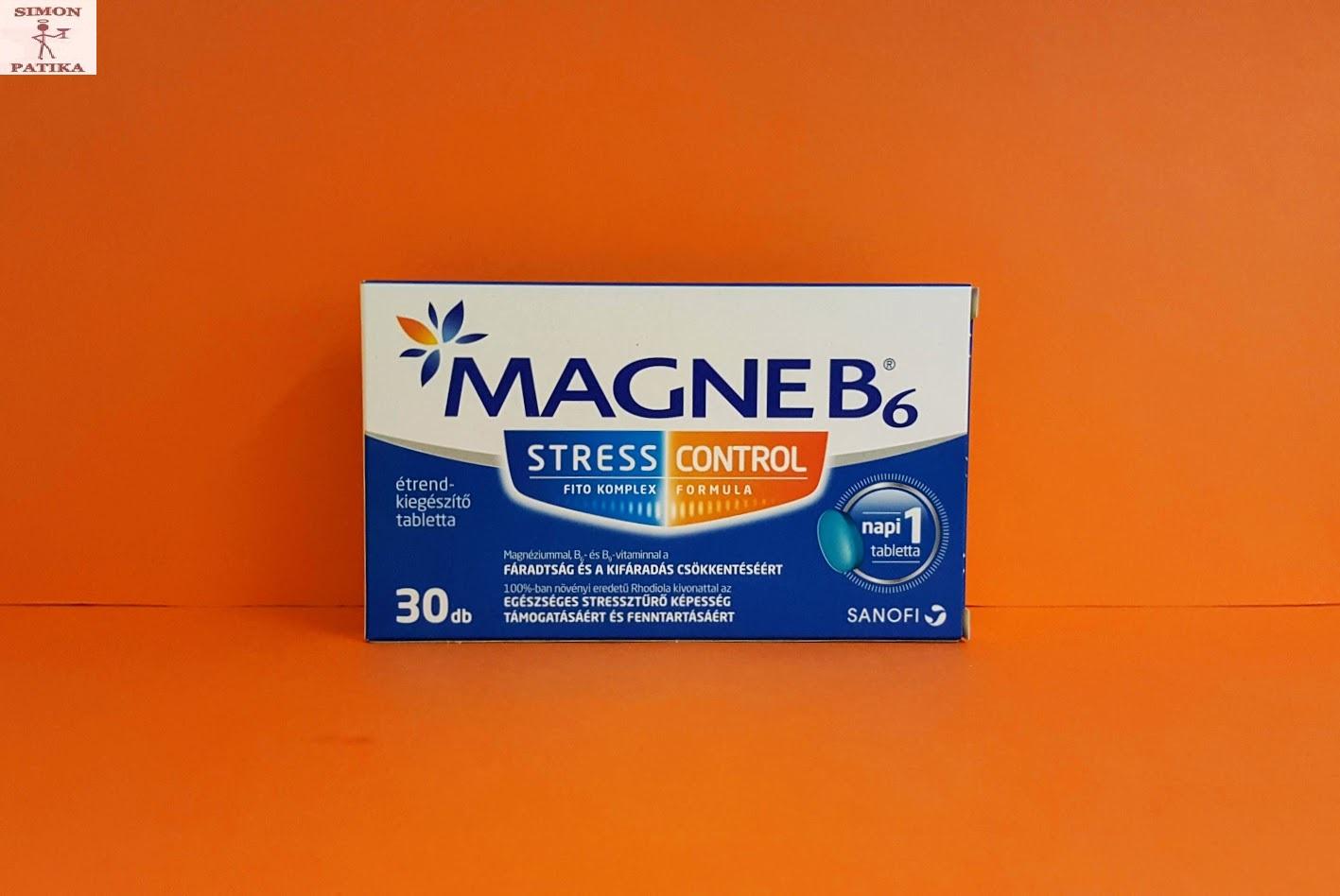 magne b6 magas vérnyomás