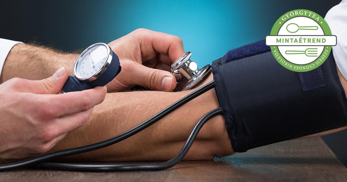 fogyatékosságot végezzen magas vérnyomás esetén vérnyomáscsökkentő étkezés