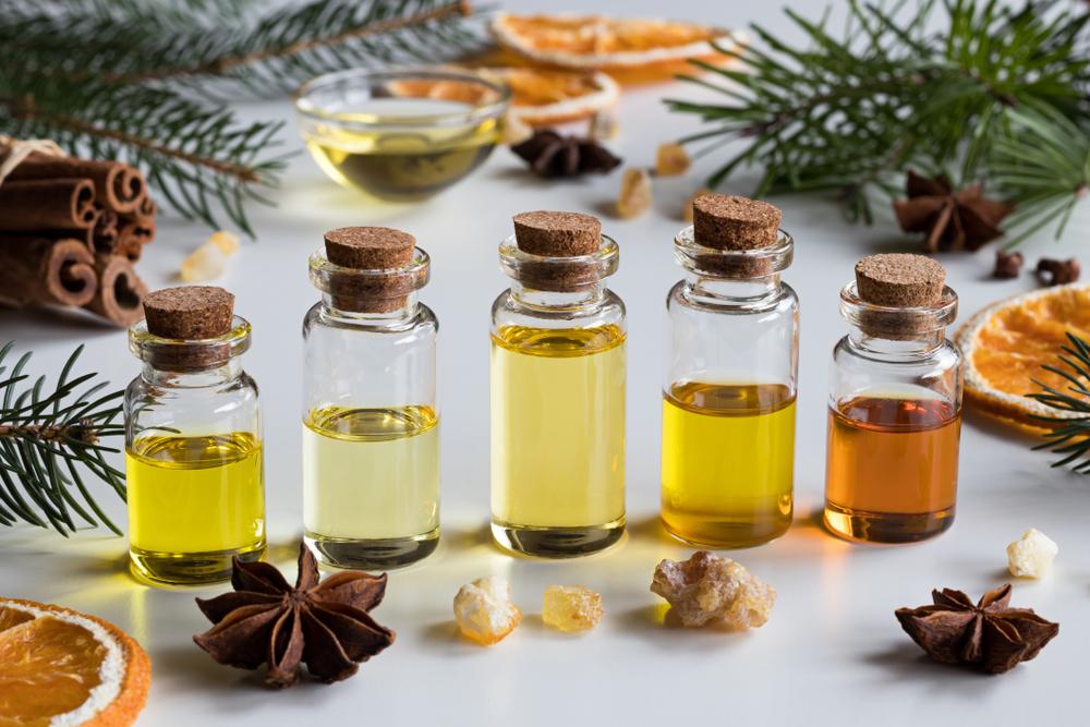 Magas vérnyomás aromaterápia, Illóolajok magas vérnyomásra